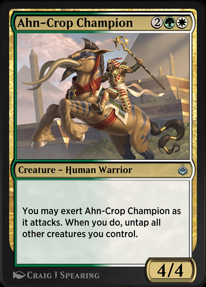 Carta /Ahn-Crop Champion de Magic the Gathering