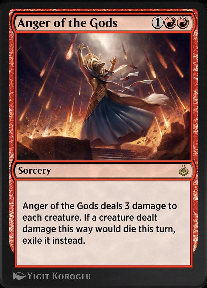 Carta /Anger of the Gods de Magic the Gathering
