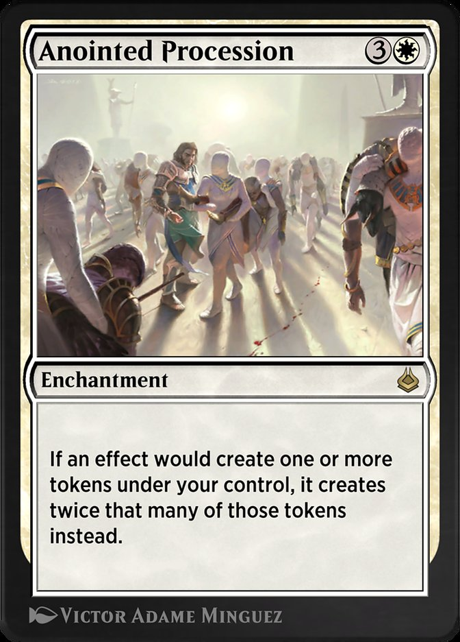 Carta /Anointed Procession de Magic the Gathering