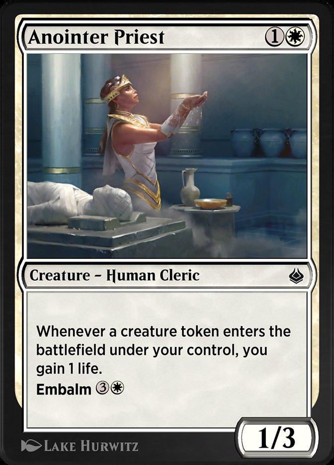 Carta /Anointer Priest de Magic the Gathering