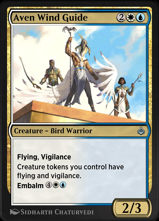 Carta /Aven Wind Guide de Magic the Gathering