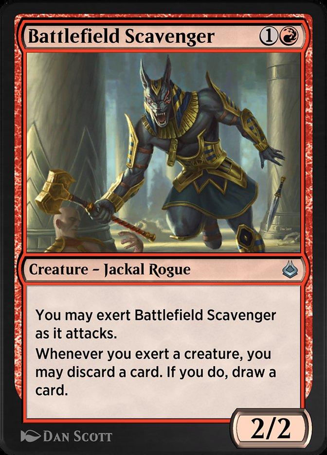 Carta /Battlefield Scavenger de Magic the Gathering