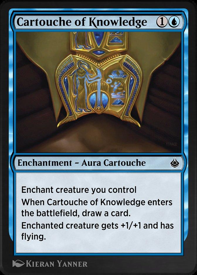 Carta /Cartouche of Knowledge de Magic the Gathering