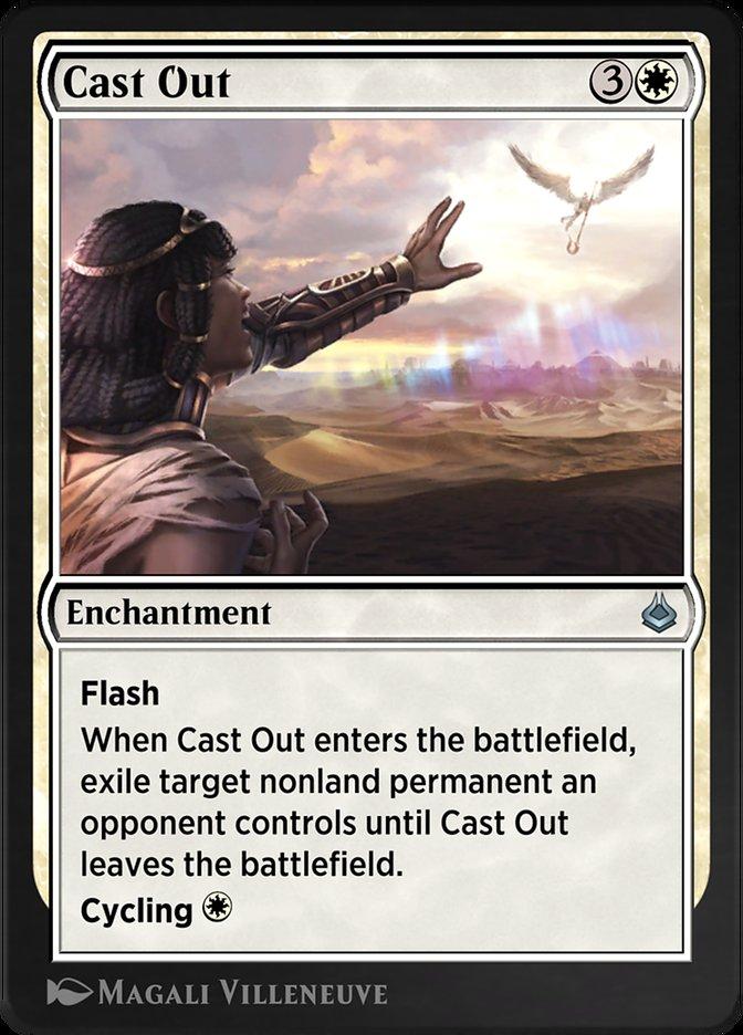 Carta /Cast Out de Magic the Gathering