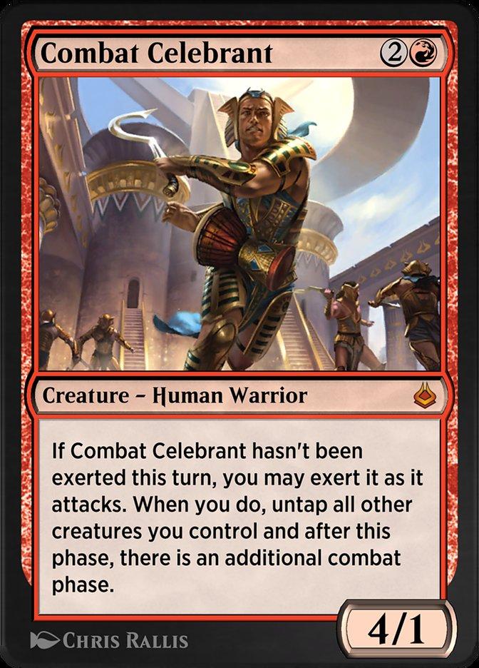 Carta /Combat Celebrant de Magic the Gathering