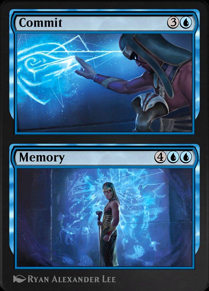 Carta /Commit // Memory de Magic the Gathering