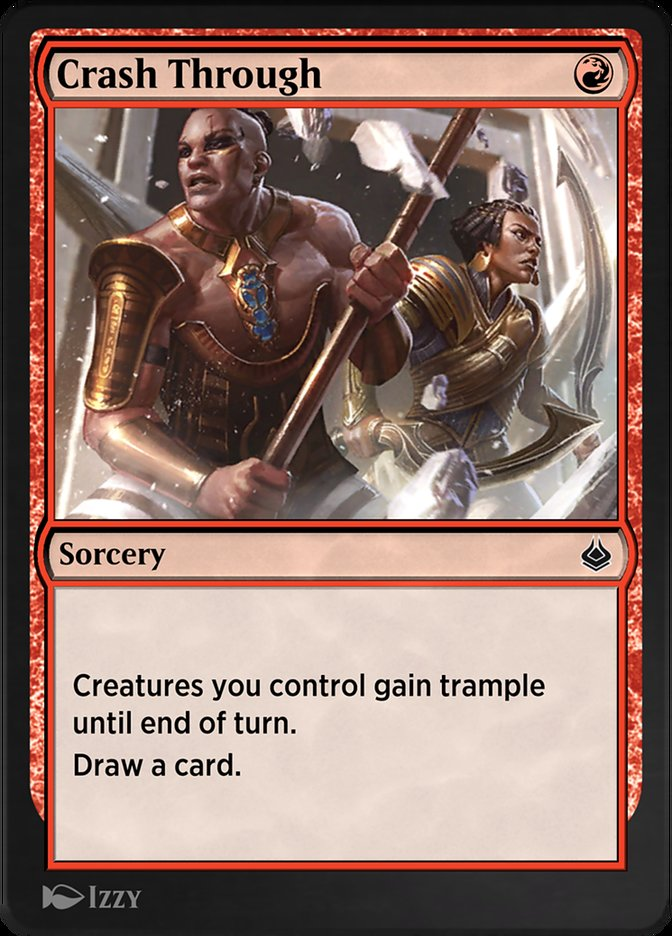 Carta /Crash Through de Magic the Gathering
