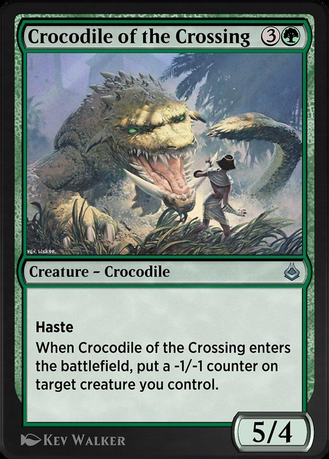 Carta /Crocodile of the Crossing de Magic the Gathering