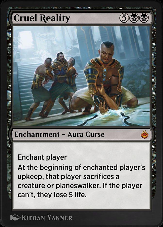 Carta /Cruel Reality de Magic the Gathering