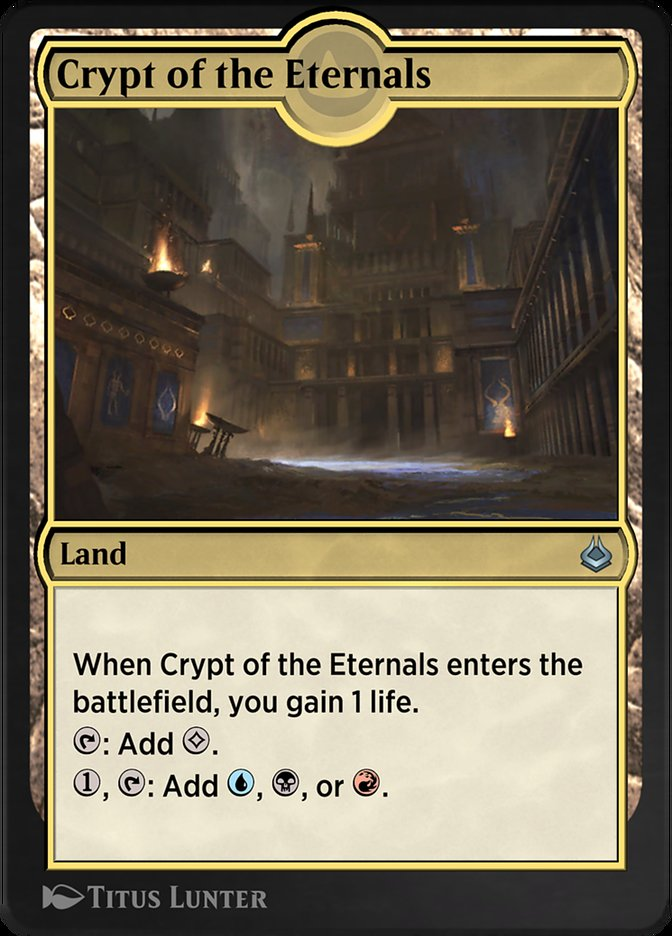 Carta /Crypt of the Eternals de Magic the Gathering