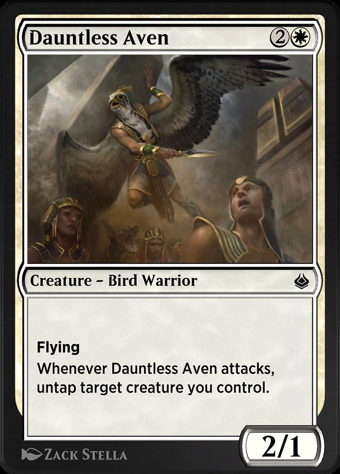Carta /Dauntless Aven de Magic the Gathering