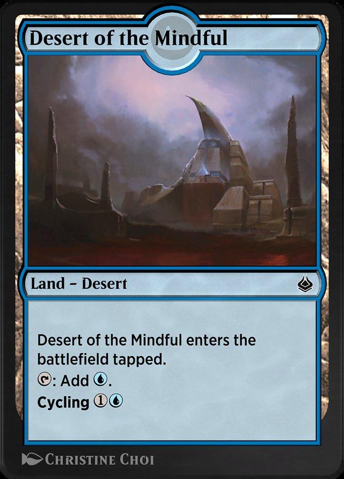 Carta /Desert of the Mindful de Magic the Gathering