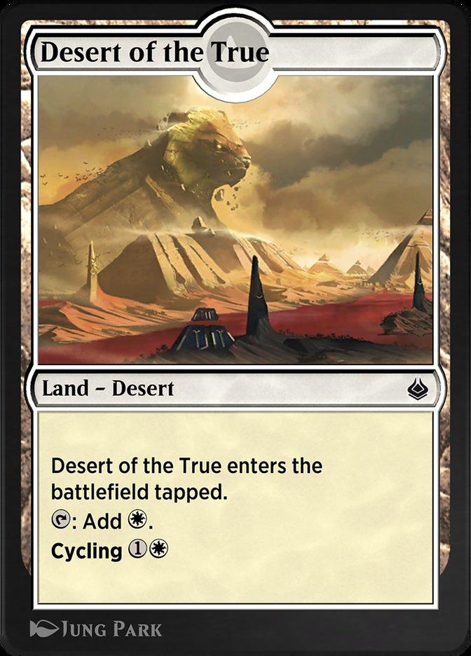 Carta /Desert of the True de Magic the Gathering