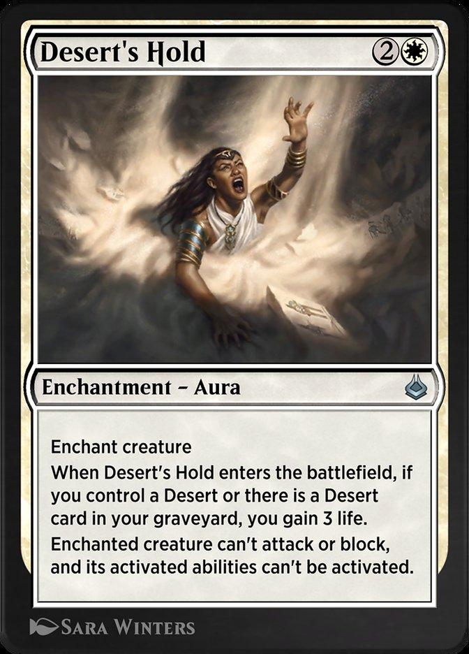 Carta /Desert's Hold de Magic the Gathering