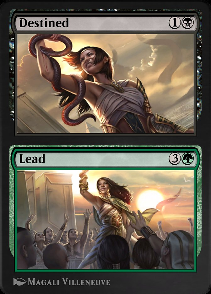 Carta /Destined // Lead de Magic the Gathering