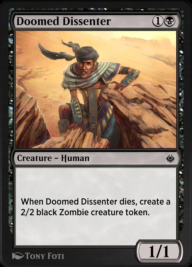 Carta /Doomed Dissenter de Magic the Gathering