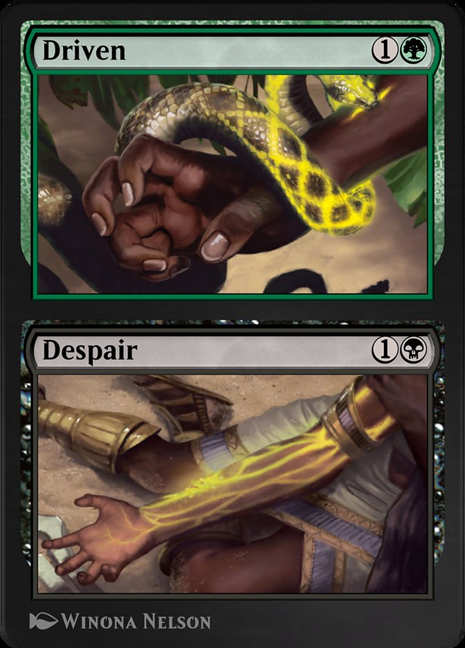 Carta /Driven // Despair de Magic the Gathering