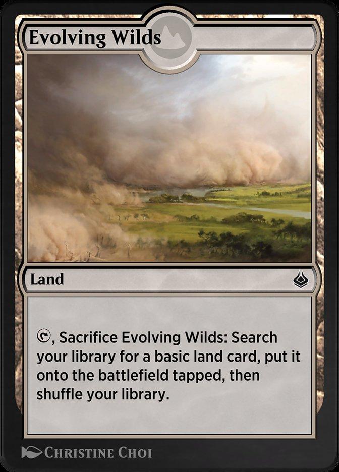 Carta /Evolving Wilds de Magic the Gathering