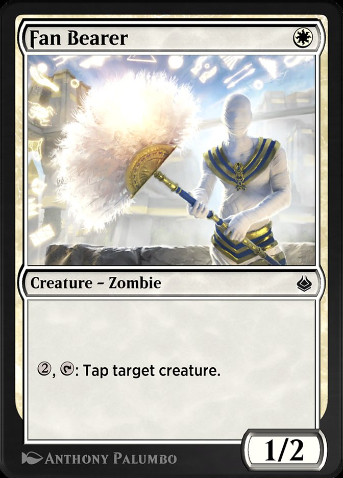 Carta /Fan Bearer de Magic the Gathering
