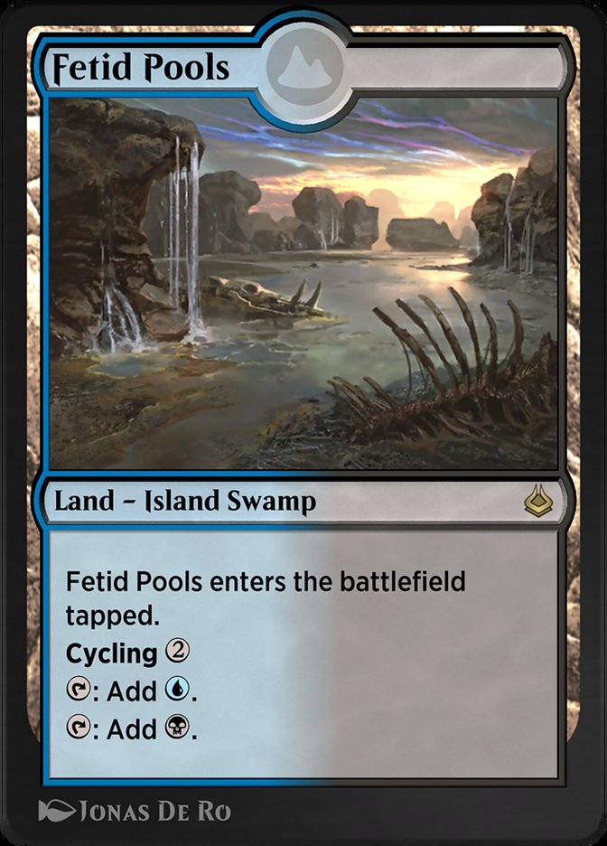 Carta /Fetid Pools de Magic the Gathering