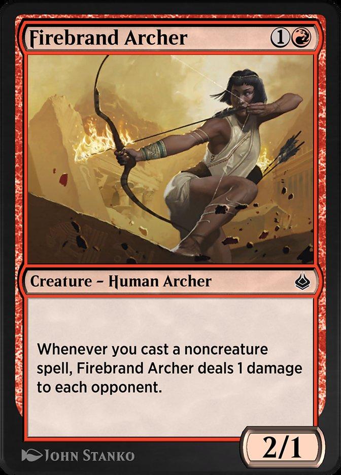 Carta /Firebrand Archer de Magic the Gathering