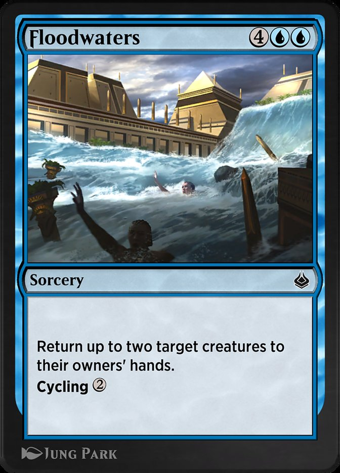 Carta /Floodwaters de Magic the Gathering