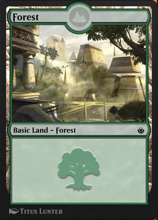 Carta /Forest de Magic the Gathering