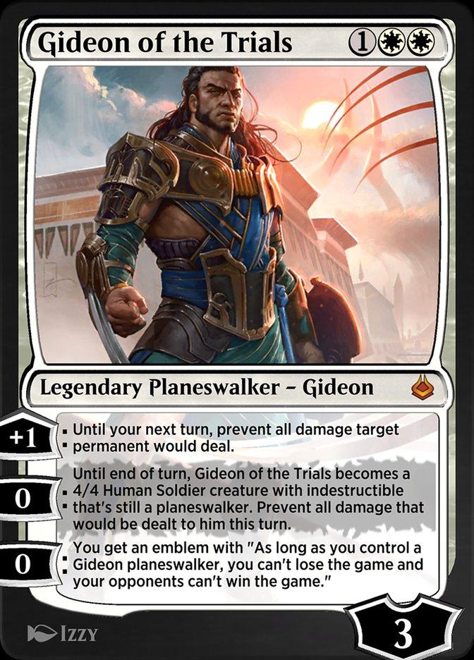 Carta /Gideon of the Trials de Magic the Gathering