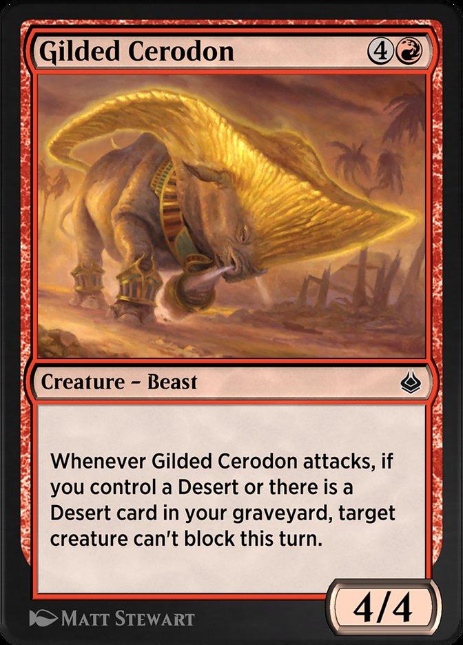 Carta /Gilded Cerodon de Magic the Gathering
