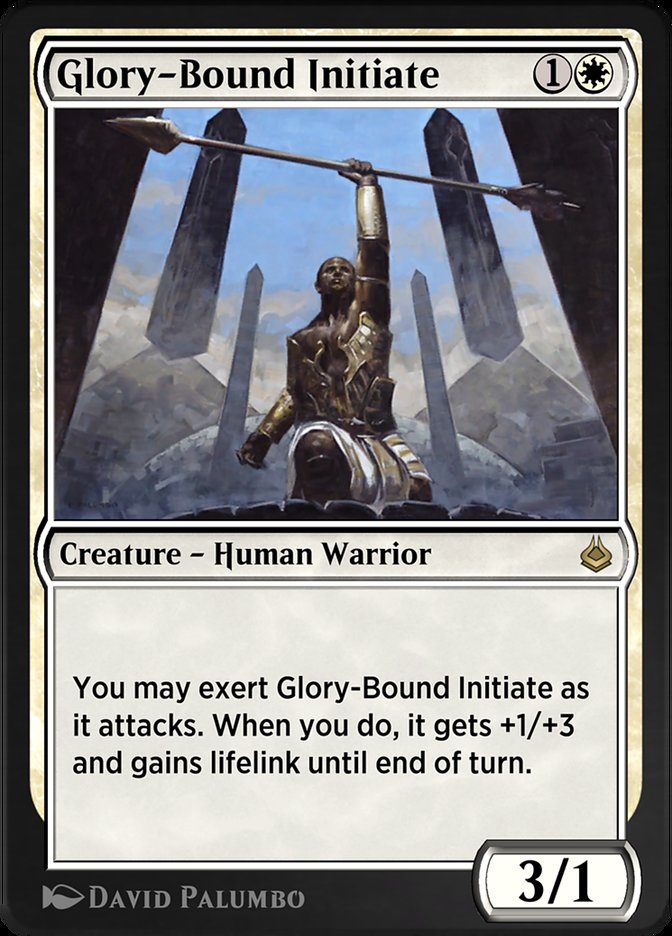 Carta /Glory-Bound Initiate de Magic the Gathering