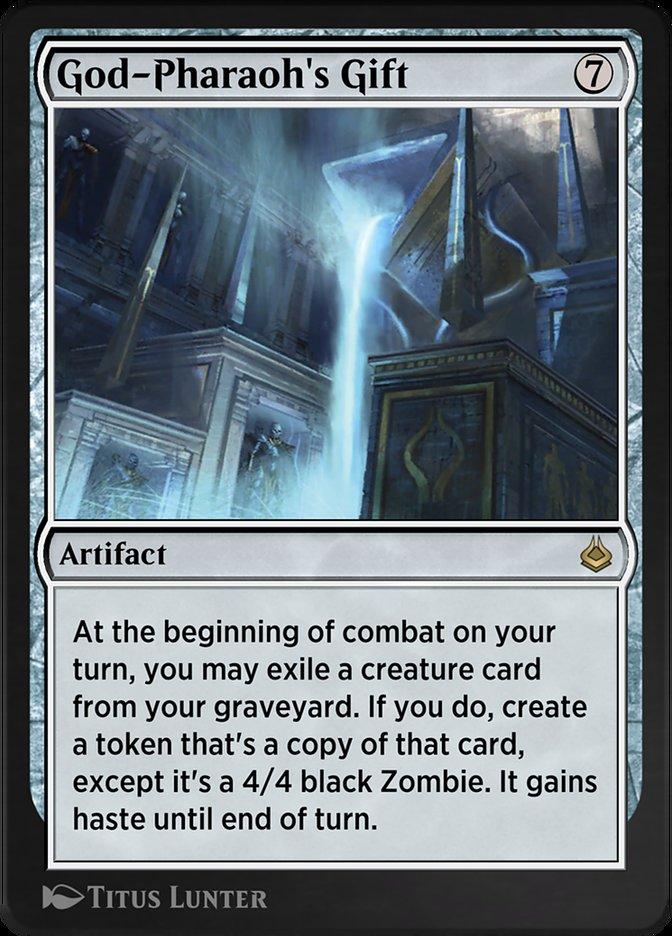 Carta /God-Pharaoh's Gift de Magic the Gathering