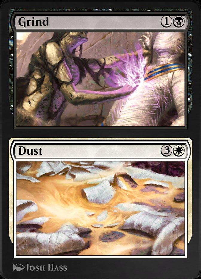 Carta /Grind // Dust de Magic the Gathering