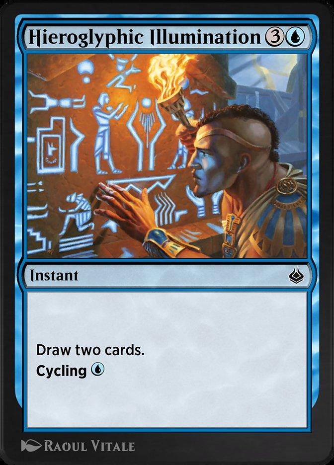 Carta /Hieroglyphic Illumination de Magic the Gathering