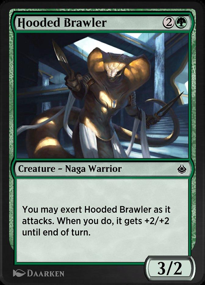 Carta /Hooded Brawler de Magic the Gathering