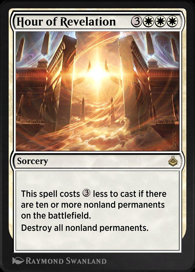 Carta /Hour of Revelation de Magic the Gathering