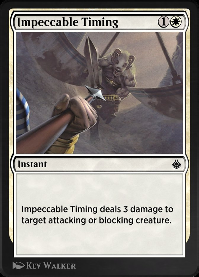 Carta /Impeccable Timing de Magic the Gathering