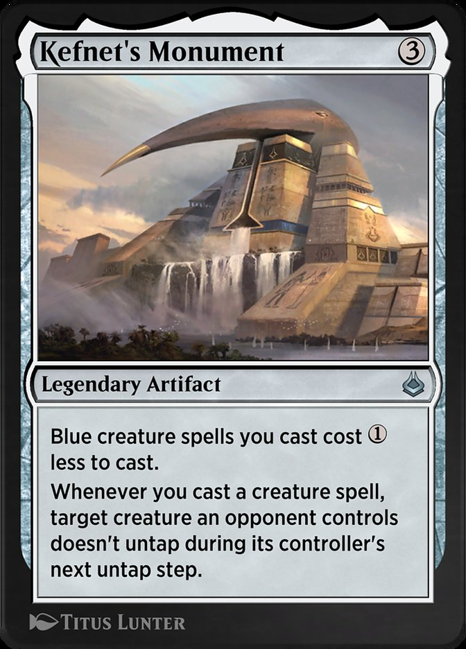 Carta /Kefnet's Monument de Magic the Gathering