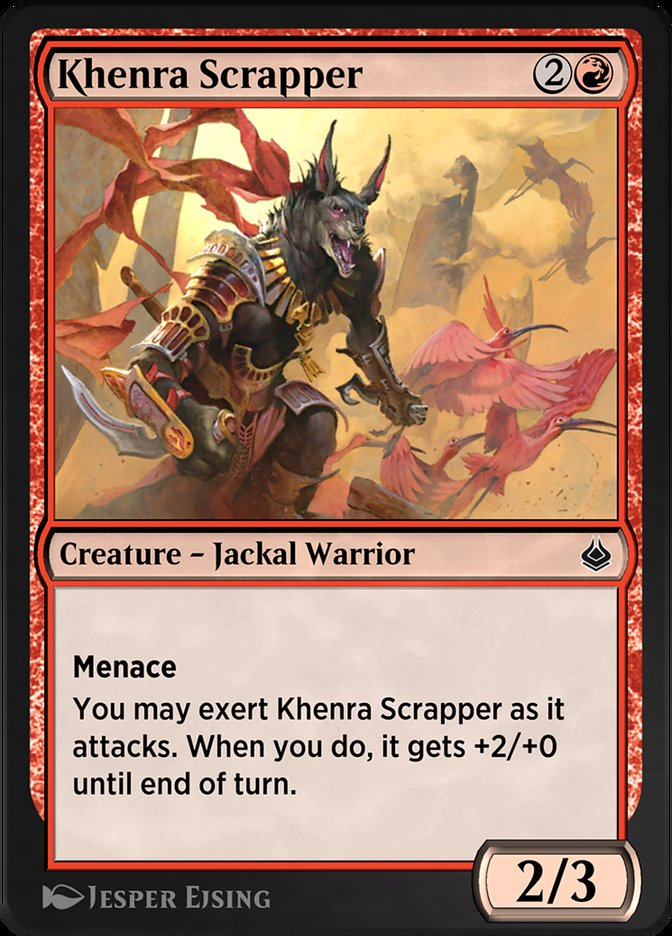 Carta /Khenra Scrapper de Magic the Gathering
