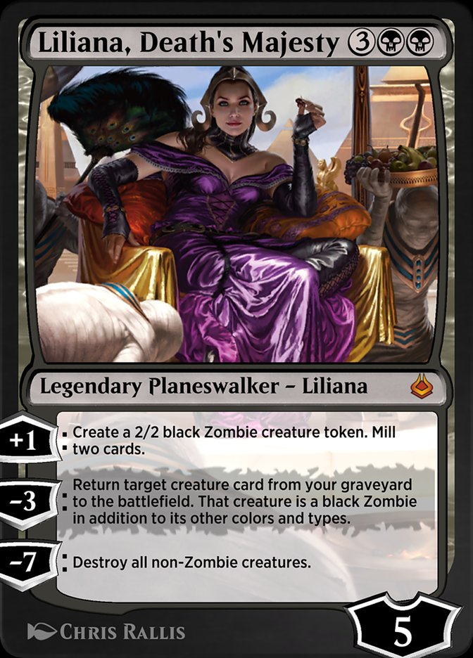 Carta /Liliana, Death's Majesty de Magic the Gathering