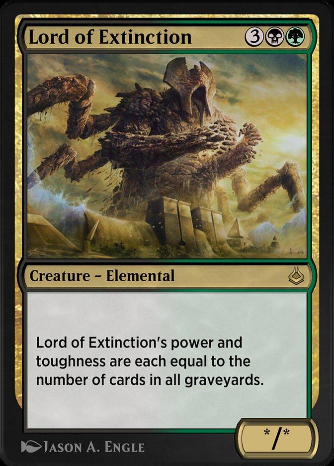 Carta /Lord of Extinction de Magic the Gathering