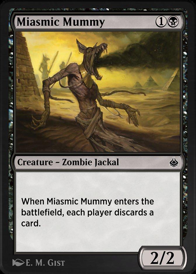 Carta /Miasmic Mummy de Magic the Gathering