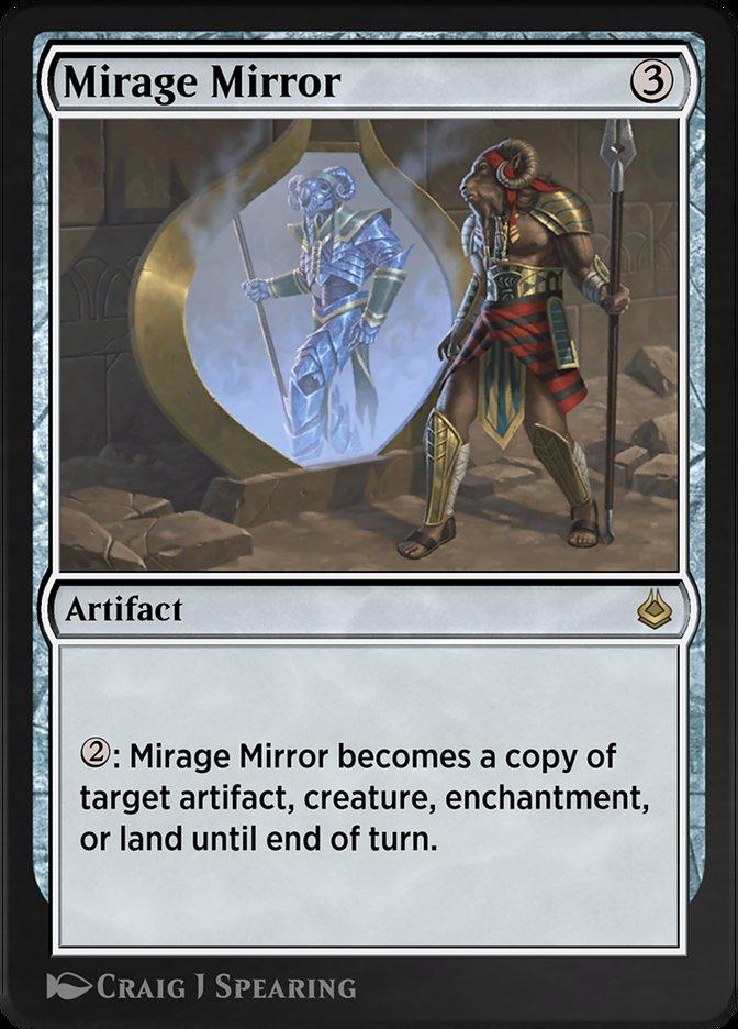 Carta /Mirage Mirror de Magic the Gathering