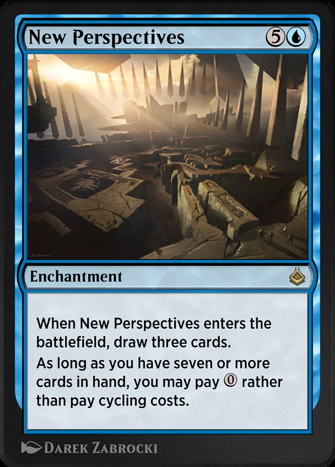 Carta /New Perspectives de Magic the Gathering