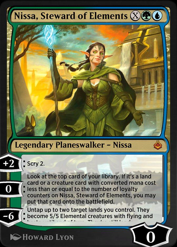 Carta /Nissa, Steward of Elements de Magic the Gathering