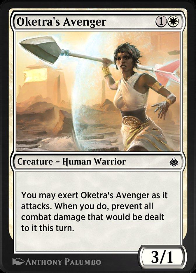 Carta /Oketra's Avenger de Magic the Gathering