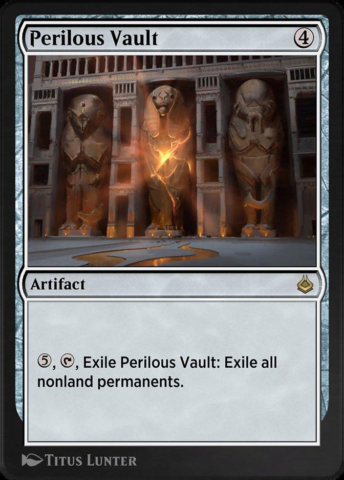 Carta /Perilous Vault de Magic the Gathering