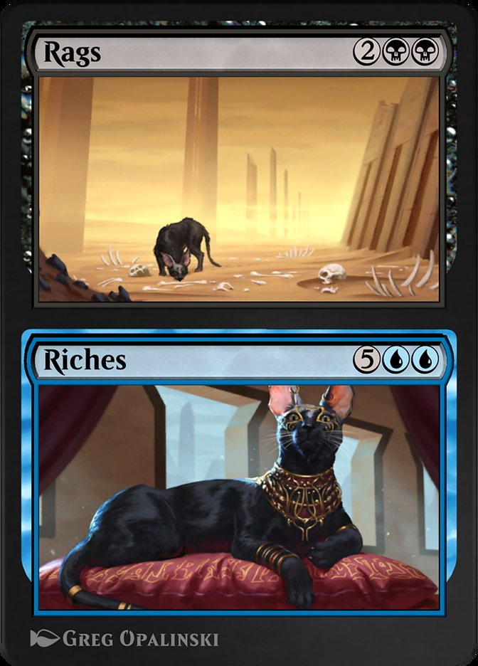 Carta /Rags // Riches de Magic the Gathering