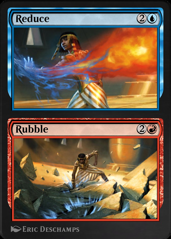 Carta /Reduce // Rubble de Magic the Gathering
