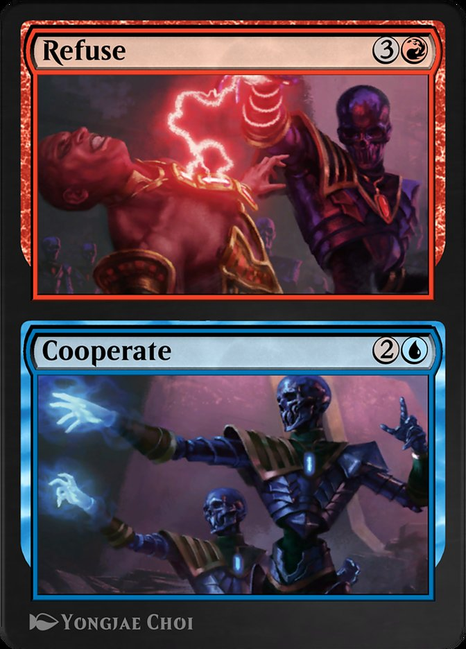 Carta /Refuse // Cooperate de Magic the Gathering