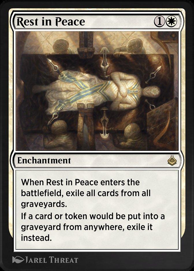 Carta /Rest in Peace de Magic the Gathering